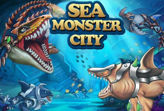 Poster Sea Monster City
