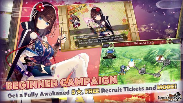 Sengoku Asuka ZERO (Anime Girls x Samurai x RPG) स्क्रीनशॉट 12