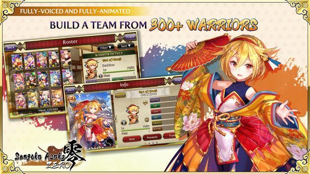 Sengoku Asuka ZERO captura de pantalla 1