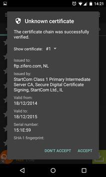FTP Express screenshot 4