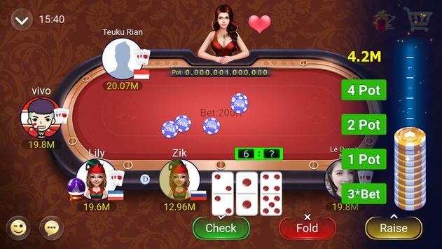 Gaple Domino Online (Koin GRATIS) Zik Games screenshot 7