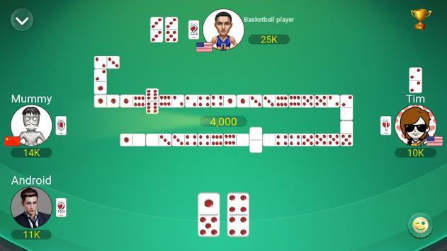 Gaple Domino Online (Koin GRATIS) Zik Games screenshot 1