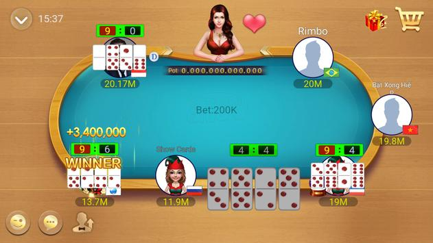 Domino QQ/99 Poker QiuQiu KiuKiu Sibo Slot Hilo screenshot 23