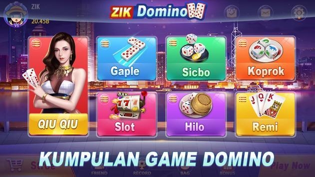 ZIK Domino poster