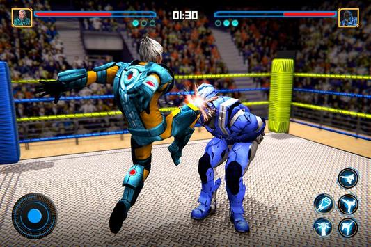 Robot Ring Fighting 2020 - Robot Wrestling Game screenshot 3