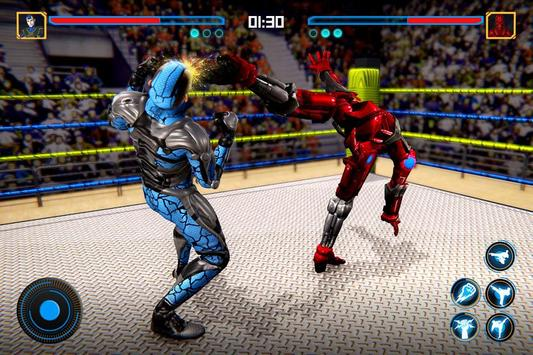 Robot Ring Fighting 2020 - Robot Wrestling Game poster