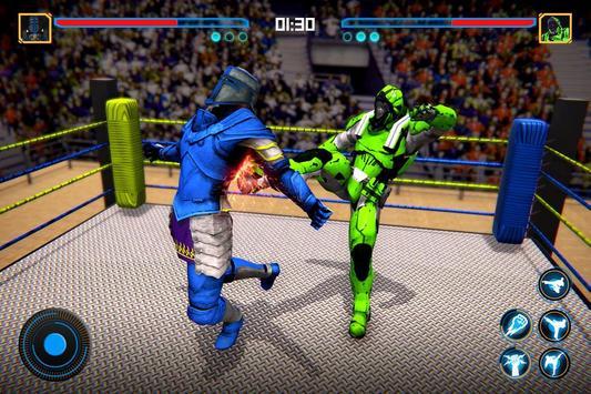 Robot Ring Fighting 2020 - Robot Wrestling Game screenshot 2