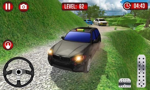Real Taxi Uphill Climb - Taxi Driving Simulator screenshot 2