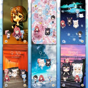 Lively Anime Live Wallpaper 截图 2
