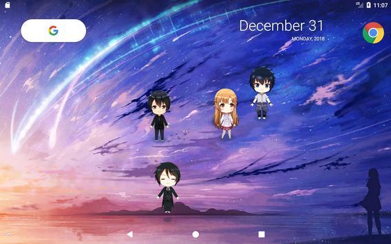 Lively Anime Live Wallpaper 截图 5