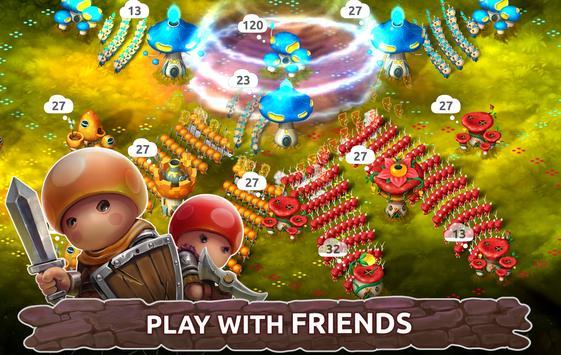Mushroom Wars 2: RTS Tower Defense & Mushroom War Ekran Görüntüsü 2