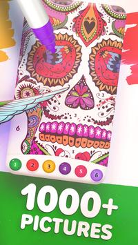 Magic Color by Number: Free Coloring game screenshot 8