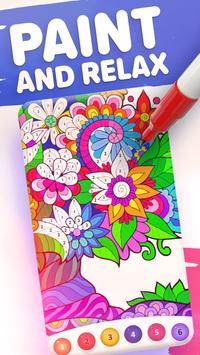 Magic Color by Number: Free Coloring game poster
