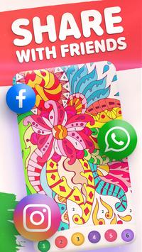 Magic Color by Number: Free Coloring game screenshot 14