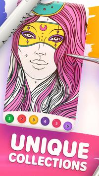 Magic Color by Number: Free Coloring game screenshot 1