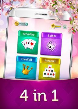 Magic Solitaire - Card Game screenshot 1