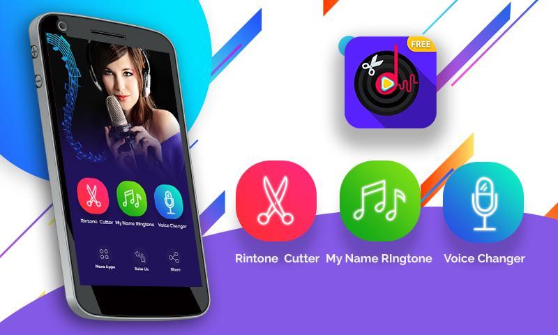 Mp3 & Music Cutter : ringtone Maker, Voice Changer for