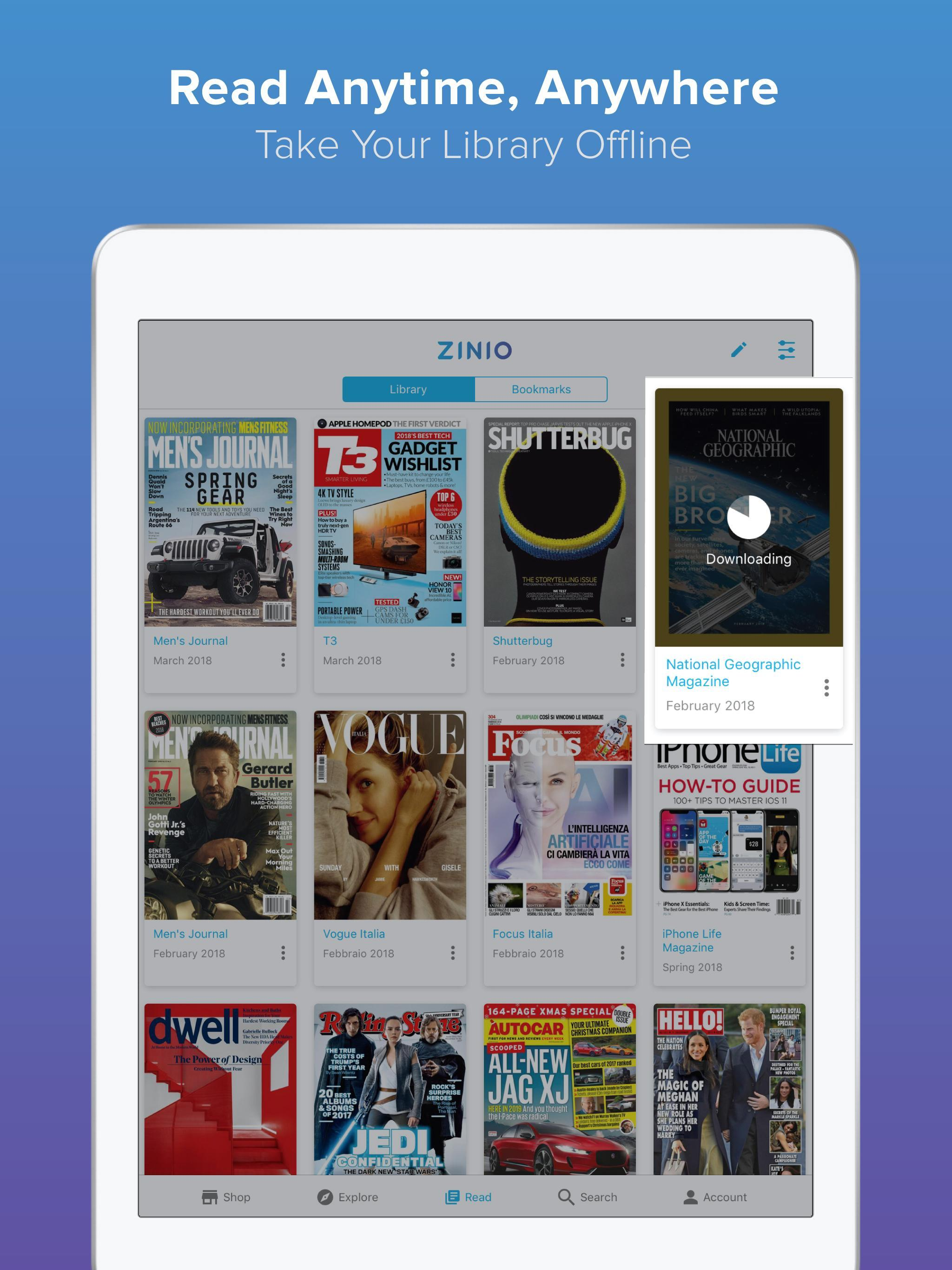 ZINIO unlimited for Android - APK Download