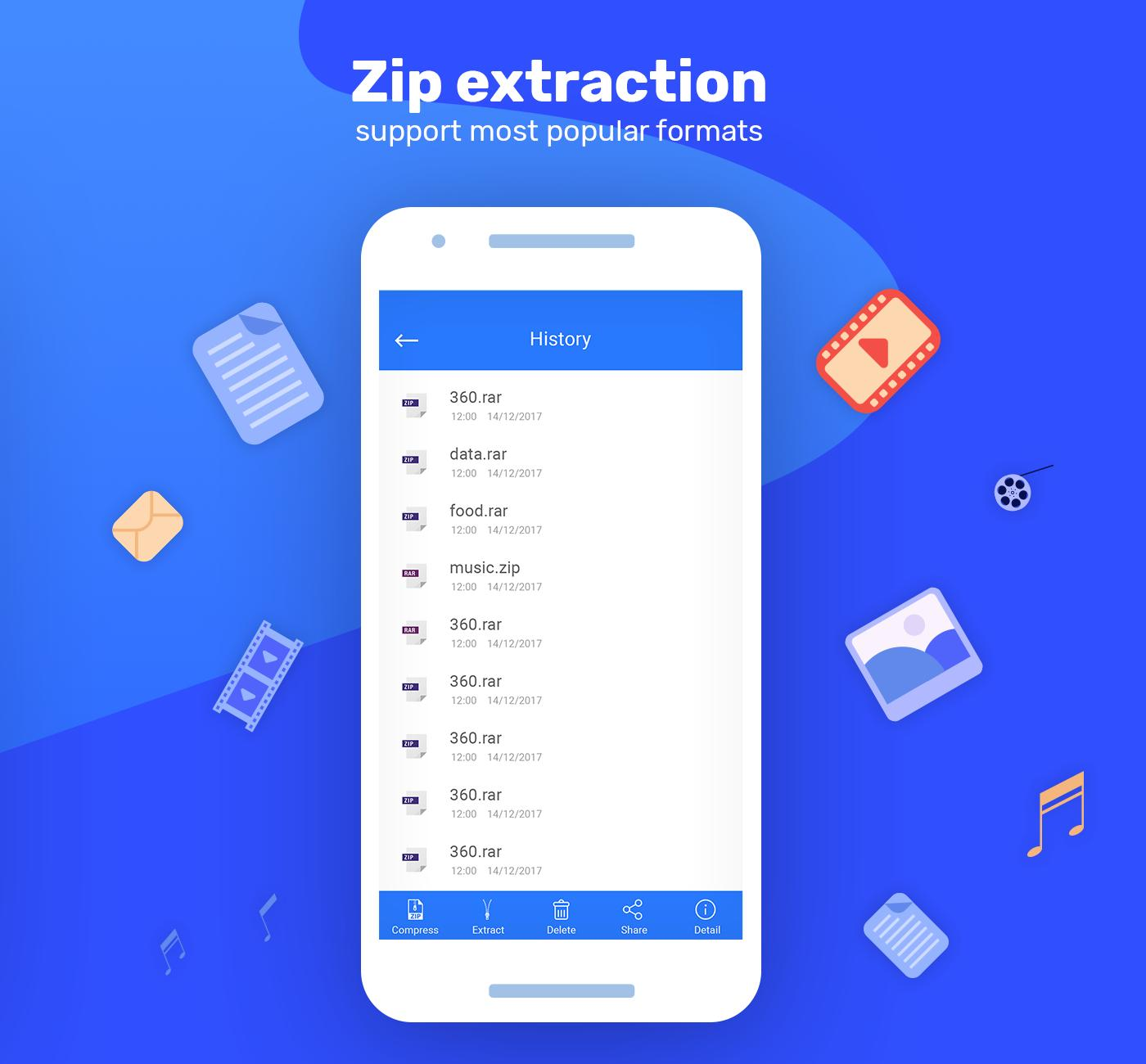 Zip & Unzip Files - Zip File Reader for Android - APK Download