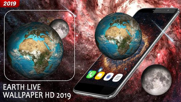 Earth Live HD Wallpaper 2019 poster