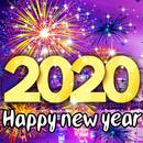 New Year 2020 Fireworks Live Wallpaper HD APK Android