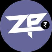 Make money online, Money earning app - Zip-pocket icon