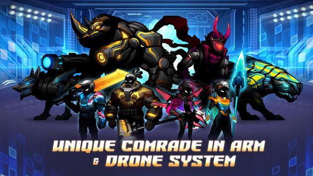 Cyber Fighters: League of Cyberpunk Stickman 2077 screenshot 12