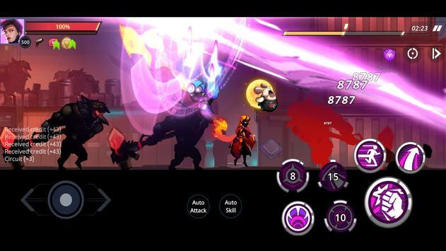 Cyber Fighters: League of Cyberpunk Stickman 2077 screenshot 14