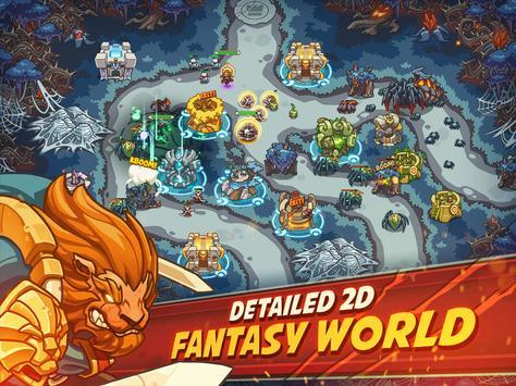 Empire Warriors Premium: Tower Defense Games screenshot 8