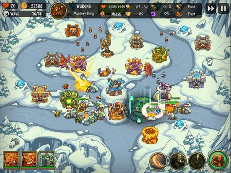Empire Warriors: Tower Defense TD Strategy Games स्क्रीनशॉट 23