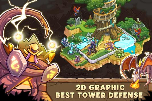 Empire Warriors: Tower Defense TD Strategy Games स्क्रीनशॉट 5