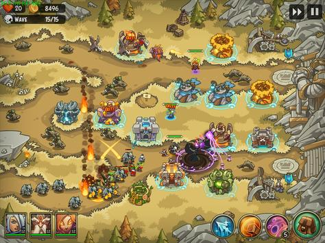 Empire Warriors: Tower Defense TD Strategy Games स्क्रीनशॉट 6