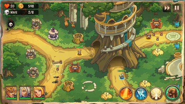 Empire Warriors: Tower Defense TD Strategy Games screenshot 7