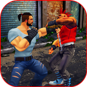 Extreme King of Street Fighting: KungFu Games 2018 icon