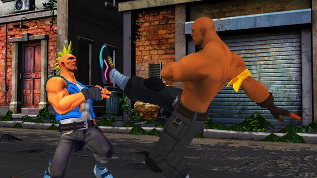 Extreme King of Street Fighting: KungFu Games 2018 screenshot 1