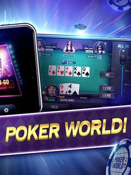 Poker World Mega Billions screenshot 1