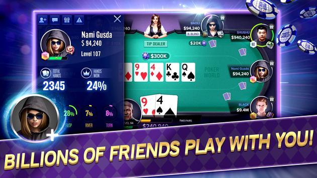 Poker World Mega Billions screenshot 2