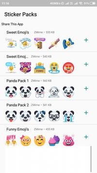 WAStickerApps Stickers Pack for Whatsapp 2019 poster