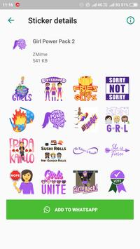WAStickerApps Stickers Pack for Whatsapp 2019 screenshot 1