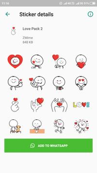 WAStickerApps Stickers Pack for Whatsapp 2019 screenshot 4