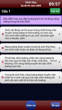 Luyện thi Sinh Học screenshot 4