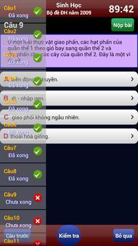 Luyện thi Sinh Học screenshot 5