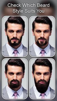 Beard Photo Editor - Beard Cam Live poster