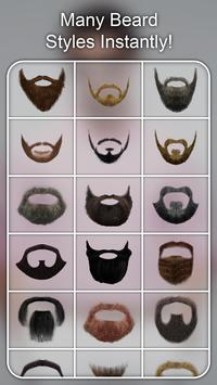 Beard Photo Editor - Beard Cam Live screenshot 13