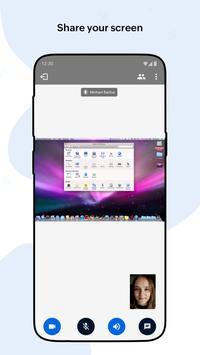 Zoho Meeting captura de pantalla 3