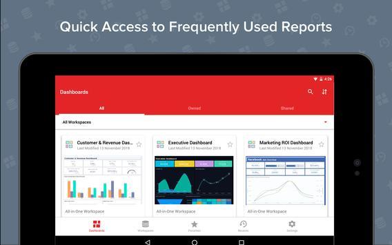 Zoho Analytics screenshot 10