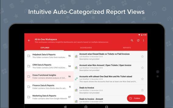 Zoho Analytics screenshot 11