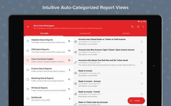 Zoho Analytics screenshot 6