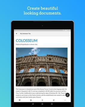 Zoho Writer - Document Editor ảnh chụp màn hình 5