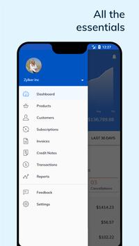 Subscription Management App - Zoho скриншот 2